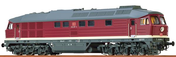 Brawa 41449 - German Diesel Locomotive 232 of the DB AG (AC Digital Extra w/Sound)