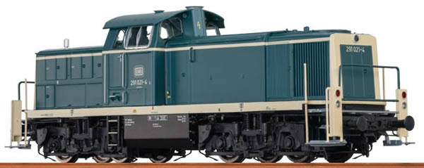 Brawa 41509 - German Diesel Locomotive BR291 of the DB – AC Digital EXTRA (Sound Decoder)