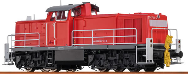 Brawa 41516 - German Diesel Locomotive BR294 of the DB – Analog BASIC+