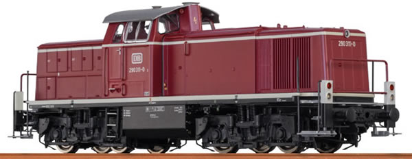 Brawa 41525 - German Diesel Locomotive BR290 of the DB – AC Digital EXTRA (Sound Decoder)
