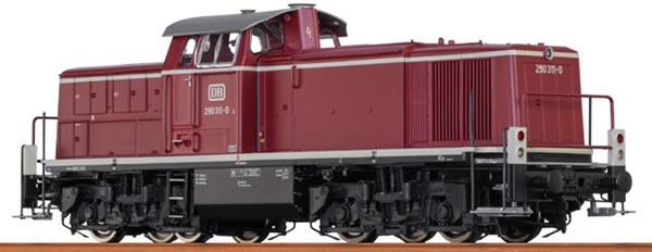Brawa 41525 - German Diesel Locomotive BR290 of the DB – AC Digital EXTRA (Sound Decoder)