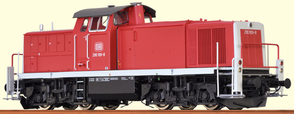 Brawa 41526 - German Diesel Locomotive BR 290 of the DB - BASIC