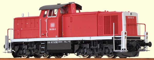 Brawa 41528 - German Diesel Locomotive BR 290 of the DB - BASIC +