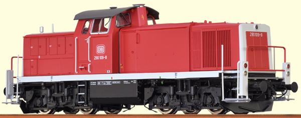 Brawa 41529 - German Diesel Locomotive BR 290 of the DB - BASIC +