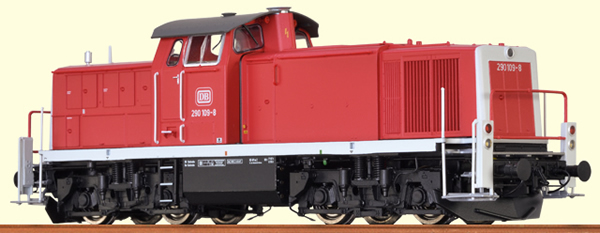 Brawa 41530 - German Diesel Locomotive BR 290 of the DB (DCC Sound Decoder)