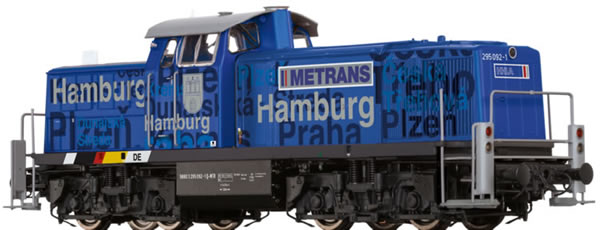 Brawa 41537 -  German Diesel Locomotive BR 295 Metrans EXTRA (AC Sound)