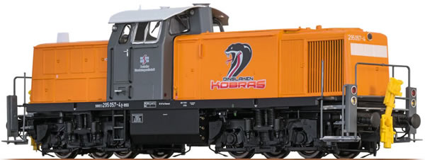 Brawa 41538 - German Diesel Locomotive BR 295 Dinslaken Kobras  - BASIC