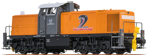Brawa 41541 - German Diesel Locomotive BR 295 Dinslaken Kobras - AC BASIC +