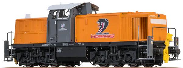 Brawa 41542 - German Diesel Locomotive BR 295 Dinslaken Kobras  (DCC Sound Decoder) - EXTRA