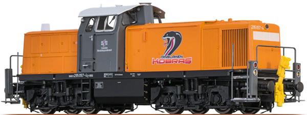 Brawa 41543 - German Diesel Locomotive BR 295 Dinslaken Kobras  (Sound Decoder) - EXTRA