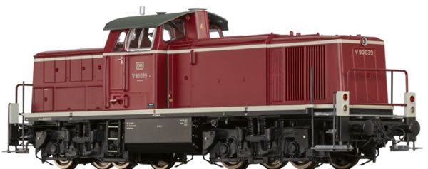 Brawa 41546 - German Diesel Locomotive BR V90 of the DB BASIC+