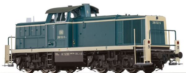 Brawa 41550 - German Diesel Locomotive BR 290 of the DB BASIC