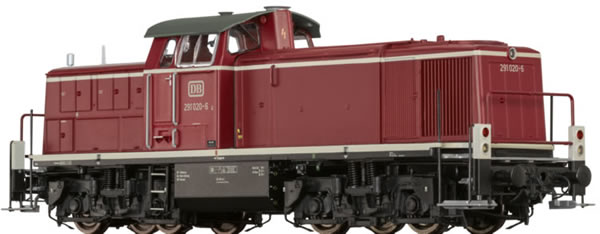 Brawa 41559 - German Diesel Locomotive BR 291 of the DB BASIC+