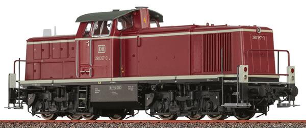Brawa 41580 - German Diesel Locomotive BR 290 of the DB (DCC Sound Decoder)