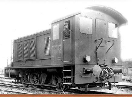 Brawa 41600 - German Diesel Locomotive WR 360 of the DRG (DC Analog Basic Plus)