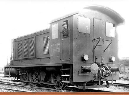 Brawa 41603 - German Diesel Locomotive WR 360 of the DRG (AC Digital Extra w/Sound)