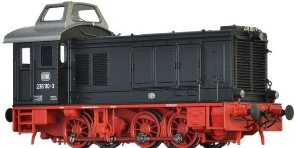 Brawa 41608 - German Diesel Locomotive BR 236 of the DB (DC Analog Basic Plus)