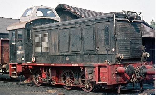 Brawa 41611 - German Diesel Locomotive BR 236 of the DB (AC Digital Extra w/Sound)