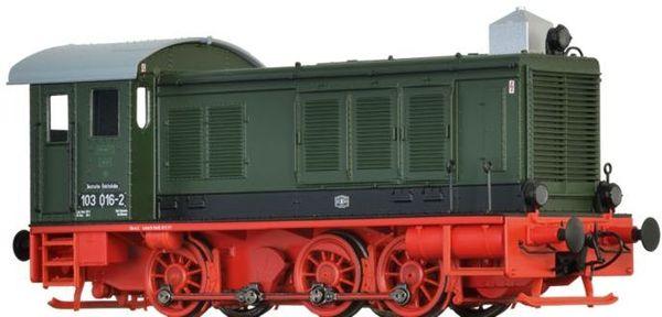 Brawa 41612 - German Diesel Locomotive BR 103 of the DR (DC Analog Basic Plus)