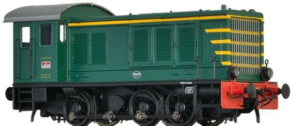 Brawa 41616 - Italian Diesel Locomotive WR 236 of the FS (DC Analog Basic Plus)