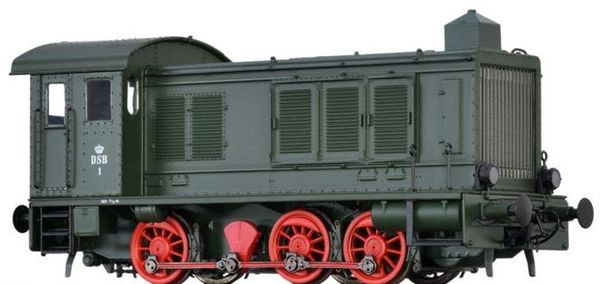 Brawa 41621 - Danish Diesel Locomotive V 36 of the DSB (AC Digital Basic Plus)