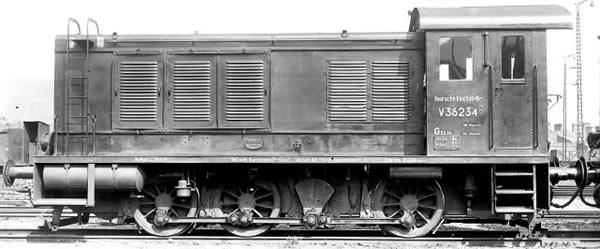 Brawa 41623 - Danish Diesel Locomotive V 36 of the DSB (AC Digital Extra w/Sound)