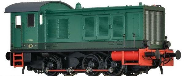 Brawa 41628 - Belgian Diesel Locomotive BR 231 of the SNCB (DC Analog Basic Plus)