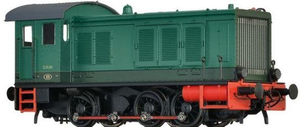 Brawa 41630 - Belgian Diesel Locomotive BR 231 of the SNCB (DC Digital Extra w/Sound)
