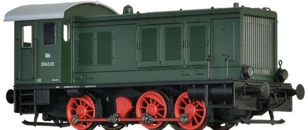 Brawa 41632 - Austrian Diesel Locomotive 2065 of the ÖBB (DC Analog Basic Plus)