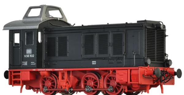 Brawa 41642 - German Diesel Locomotive V36 of the DB (DC Analog Basic Plus)