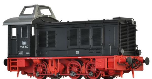 Brawa 41643 - German Diesel Locomotive V36 of the DB (AC Digital Basic Plus)