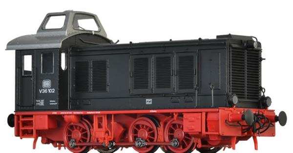 Brawa 41644 - German Diesel Locomotive V36 of the DB (DC Digital Extra w/Sound)
