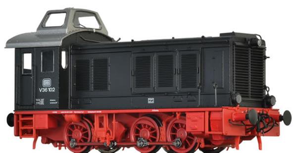 Brawa 41645 - German Diesel Locomotive V36 of the DB (AC Digital Extra w/Sound)