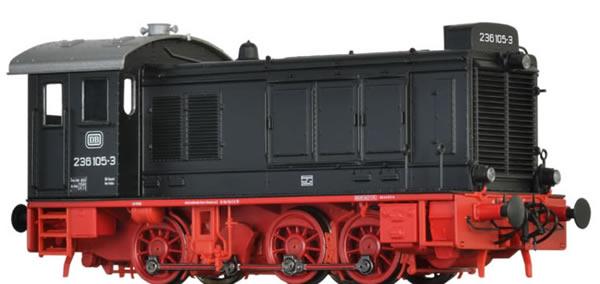 Brawa 41646 - German Diesel Locomotive 236 of the DB (DC Analog Basic Plus)