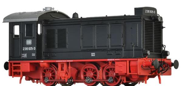 Brawa 41647 - German Diesel Locomotive 236 of the DB (AC Digital Basic Plus)
