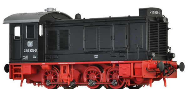 Brawa 41648 - German Diesel Locomotive 236 of the DB (DC Digital Extra w/Sound)
