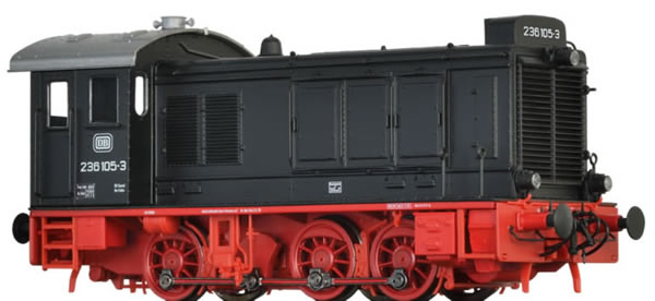 Brawa 41649 - German Diesel Locomotive 236 of the DB (AC Digital Extra w/Sound)