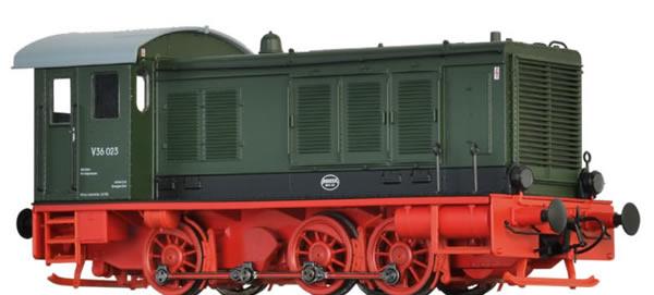 Brawa 41650 - German Diesel Locomotive V36 of the DR (DC Analog Basic Plus)