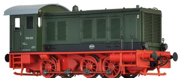 Brawa 41652 - German Diesel Locomotive V36 of the DR (DC Digital Extra w/Sound)