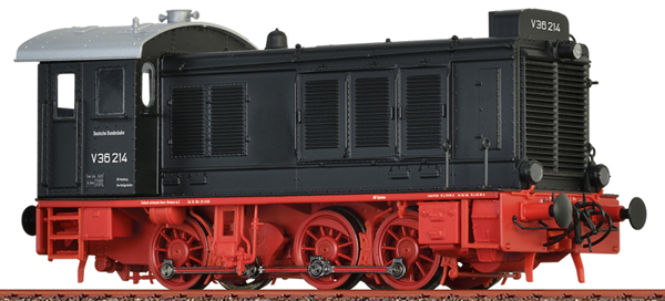 Brawa 41657 - German Diesel Locomotive V36 of the DB (Sound Decoder)