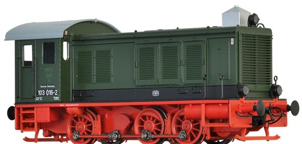 Brawa 41665 - German Diesel Locomotive 103 of the DR (Sound Decoder)