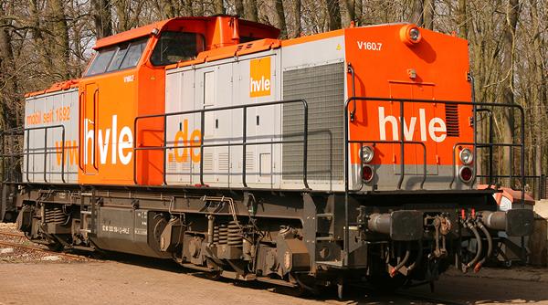 Brawa 41700 - German Diesel Locomotive 203 of the HVLE