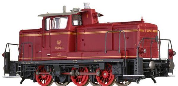 Brawa 42402 - German Diesel Locomotive V60 of the DB (DC Digital Extra w/Sound)