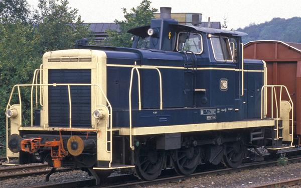 Brawa 42404 - German Diesel Locomotive 363 of the DB (DC Analog Basic Plus)
