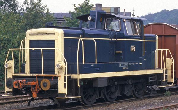 Brawa 42406 - German Diesel Locomotive 363 of the DB (DC Digital Extra w/Sound)