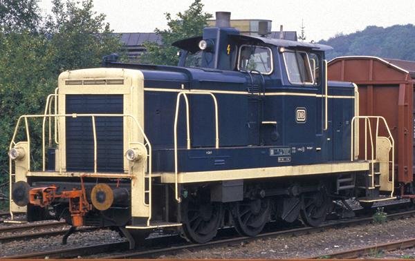 Brawa 42407 - German Diesel Locomotive 363 of the DB (AC Digital Extra w/Sound)
