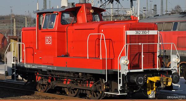 Brawa 42412 - German Diesel Locomotive 362 of the DB AG (DC Analog Basic Plus)