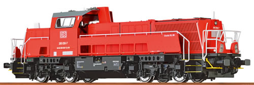 Brawa 42724 - German Diesel Locomotive 15D of the DB – Digital EXTRA (DCC Sound Decoder)