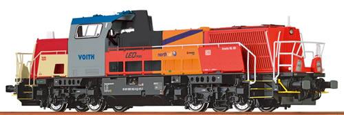 Brawa 42726 - German Diesel Locomotive 15D Innotrans – Analog BASIC