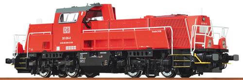 Brawa 42794 - German Diesel Locomotive 10BB of the DB – Analog BASIC+